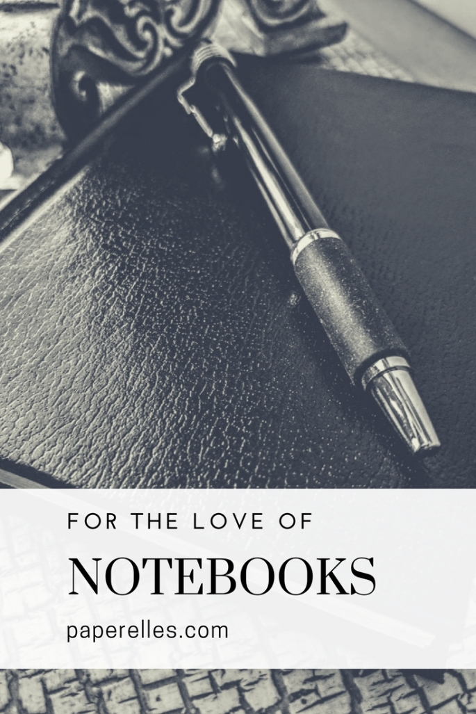 Love of Notebooks Pin
