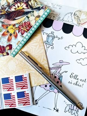 Cards and Stamps for National Card and Letter Writing Month